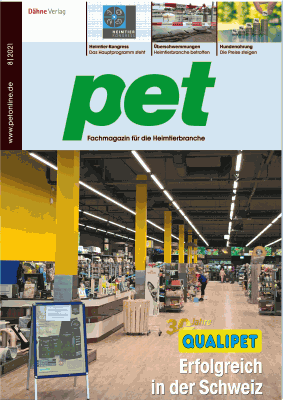 Trial subscription pet specialist magazine