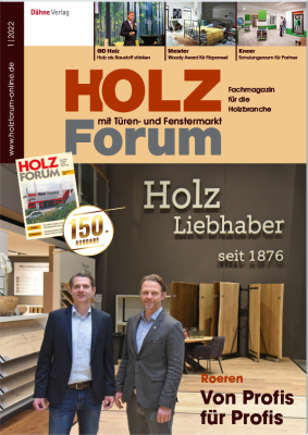 Free trial magazine Holzforum